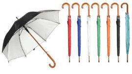 Promosyon Ahşap Saplı Şemsiye